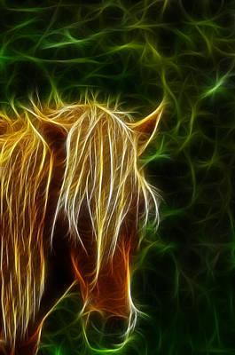 Centaur Photograph - Fantasy Horse by Paul Ward