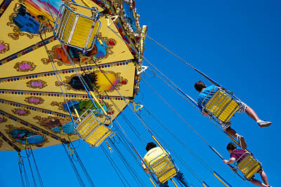 Swings Photograph - Fantasy Of Flight by Heidi Reyher