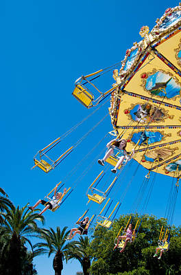 Swings Photograph - Fantasy Of Flight II by Heidi Reyher