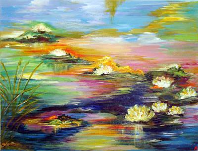 Fantasy Pond Art Print