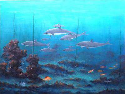 Painting - Fantasy Reef by Gary Partin