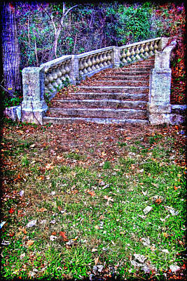 Faerie Photograph - Fantasy Stairway by Olivier Le Queinec