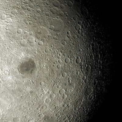 Surface Feature Photograph - Far Side Of The Moon by Detlev Van Ravenswaay
