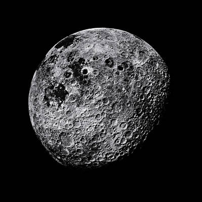 Far Side Photograph - Far Side Of The Moon by Nasa
