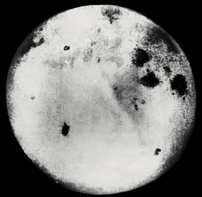 Far Side Photograph - Far Side Of The Moon by Ria Novosti
