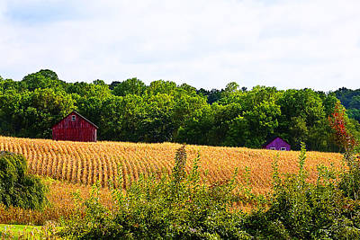 Photograph - Farm And Crops by Trudy Wilkerson