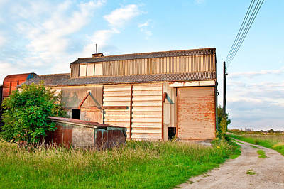 Agricultural Industry Wall Art - Photograph - Farm Building by Tom Gowanlock