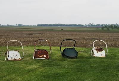 Photograph - Farm Chairs by Todd Sherlock