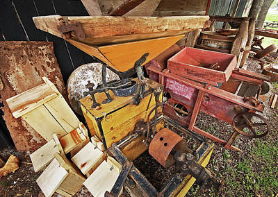 Farm Equipment Original by Michael Thomas