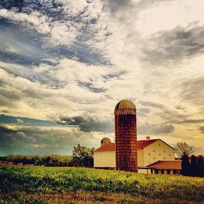 Rural Scenes Photograph - Farm In Berks County, #pennsylvania by Luke Kingma