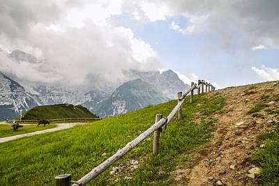 Stocktrek Images - Farm in the Alps by Cristian Mihaila
