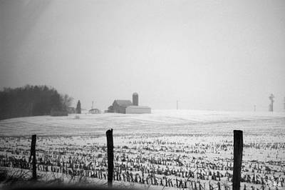 Wall Art - Photograph - Farm In The Snow by Cate Rubin