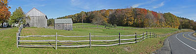 Photograph - Farm On Vermont Highway 9 by Gregory Scott