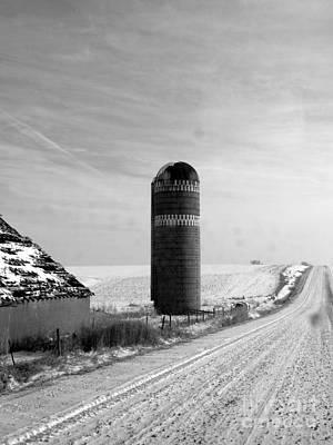 Photograph - Farm Road by David Bearden