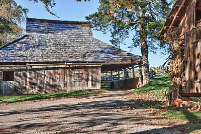 Photograph - Farm Scene At Booker T. Washington National Monument Park by James Woody