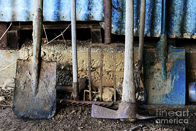 Photograph - Farm Tool by Stephen Mitchell