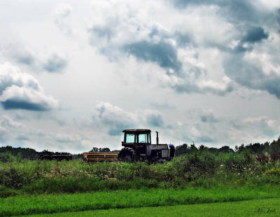 Photograph - Farm Tractor by Ms Judi
