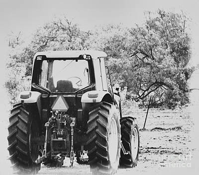 Photograph - Farm Tractor by Tammy Herrin
