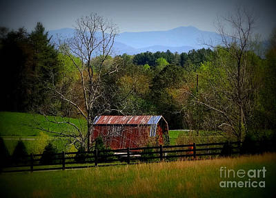 Photograph - Farm With A View by Crystal Joy Photography