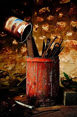 Photograph - Farm Yard Bucket by Naomi Clarke