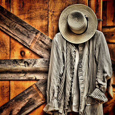 Photograph - Farmer's Wear by Pat Abbott