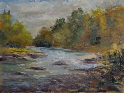 Farmington River September Art Print