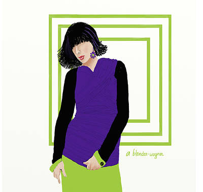 Clothes Clothing Digital Art - Fashion by Arline Wagner