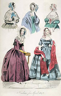 Fashion Print Art Print by Granger