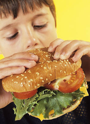 Fast Food Art Print by Ian Boddy