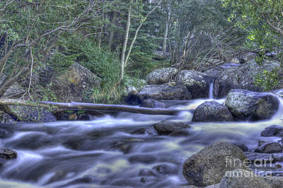 Photograph - Fast Stream by David Bearden