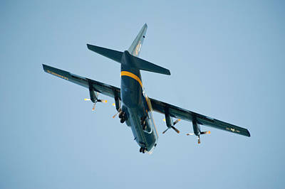 Photograph - Fat Albert Flies Low Over Our Lanai by Dan McManus