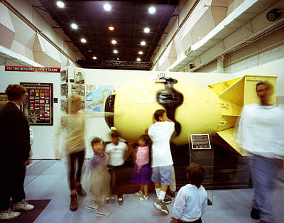 Fat Man Bomb With Kids Original by Jan W Faul