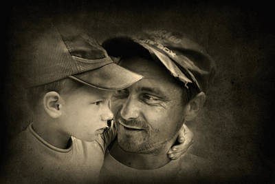Photograph - Father Figure by Evelina Kremsdorf