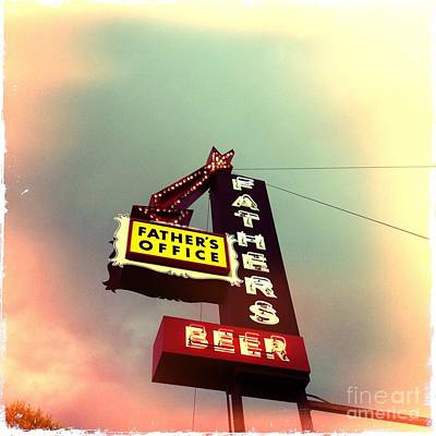 Food And Beverage Photograph - Father's Office Beer by Nina Prommer