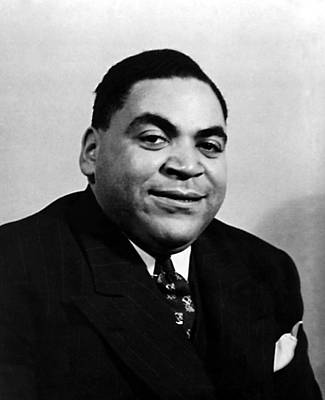 Jazz Pianist Photograph - Fats Waller, Real Name Thomas, Ca. 1930s by Everett