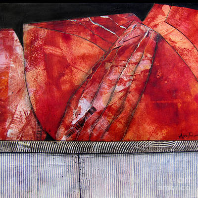 Painting - Fault Line by Ann Powell