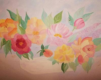 Painting - Favorite Flowers by Alanna Hug-McAnnally