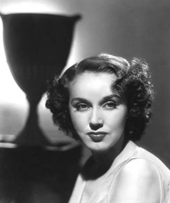 Fay Wray, Columbia Pictures, Ca. Late Print by Everett
