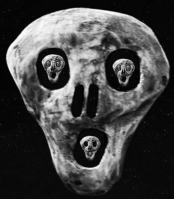 Scream World Tour Digital Art - Fear by Eric Kempson