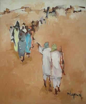 Fear  Art Print by Negoud Dahab