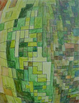 Excursion Mixed Media - Fecundity by Bob Rowell