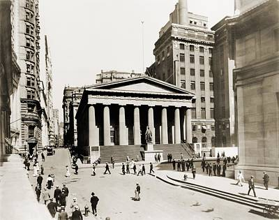 Federal Hall National Memorial In 1915 Art Print by Everett
