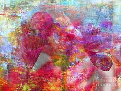 Ruins Mixed Media - Feel In by Fania Simon