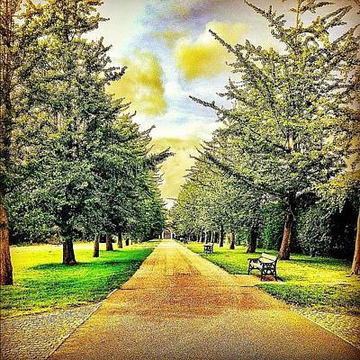 Pathway Wall Art - Photograph - Feel Like Walking With Me? #vintage by Elbashir Idris