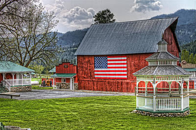 Granger Photograph - Feeling Patriotic by Brad Granger