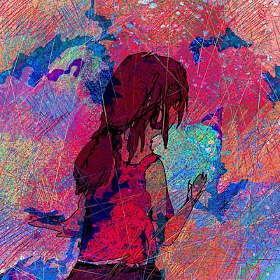 Feeling The Colors Art Print