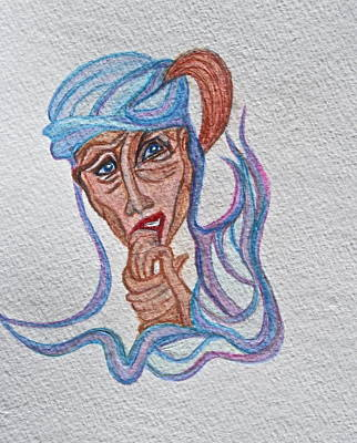 Feelings Art Print by Ruth Edward Anderson