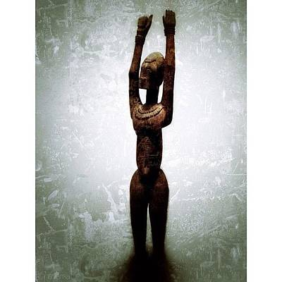 Gmy Photograph - Female Figure Standing With Arms by Natasha Marco
