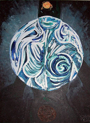 Painting - Female Spirit Of The Earth by David Karasow