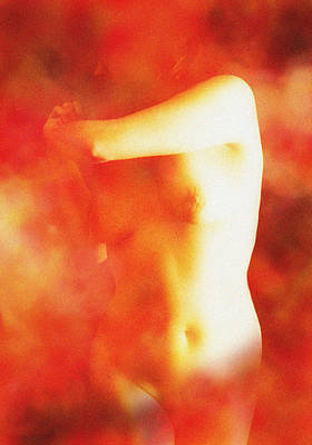 Nude Woman Torso Photograph - Female Torso by David Gifford